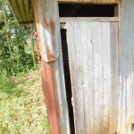 The Water Project: Eshiakhulo Community, Asman Sumba Spring -  Latrines Are Very Rare In The Community