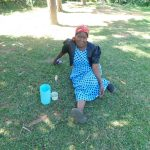 The Water Project: Sichinji Community, Kubai Spring -  Margaret Mbone