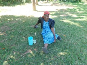 The Water Project:  Margaret Mbone
