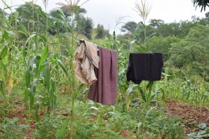 The Water Project:  Clothesline And Garden