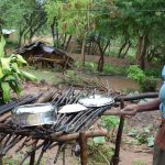 The Water Project: Mwau Community -  Dish Drying Rack