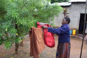 The Water Project:  Hanging Clothes On The Line
