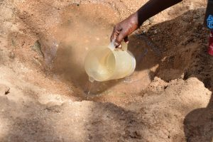 The Water Project:  Scoop Hole Water
