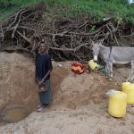 The Water Project: Kathungutu Community -  At The Scoop Hole