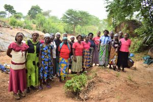 The Water Project:  Members Of The Self Help Group