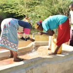 The Water Project: Utuneni Community B -  Fetching Water