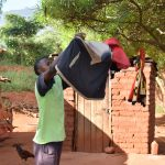 The Water Project: Utuneni Community B -  Hanging Clothes On The Line