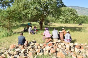 The Water Project:  Self Help Group Members Meeting