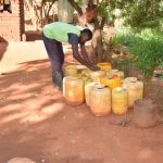The Water Project: Utuneni Community B -  Water Storage Containers