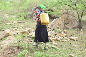 The Water Project:  Carrying The Full Container