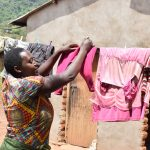 The Water Project: Mbiuni Community -  Hanging Clothes To Dry