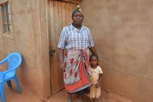 The Water Project:  Mary Stands With Her Daughter