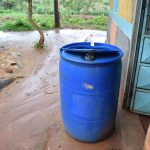 The Water Project: Mwau Community A -  Large Water Storage Container