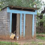 The Water Project: Mwau Community A -  Latrines