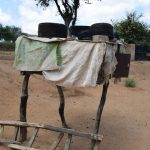 The Water Project: Tulimani Community A -  Dish Drying Rack