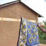 The Water Project: Tulimani Community A -  Hanging Clothes To Dry