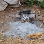 The Water Project: Kathungutu Community A -  Outdoor Cookstove