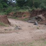 The Water Project: Kathungutu Community A -  Riverbed