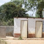 The Water Project: Kyamatula Secondary School -  Boys Latrines