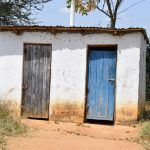 The Water Project: Kyamatula Secondary School -  Girls Latrines