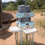 The Water Project: Kyamatula Secondary School -  Handwashing Station