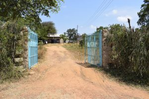 The Water Project:  School Front Gate