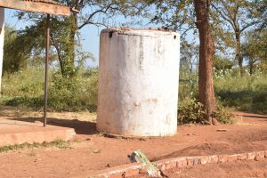 The Water Project:  Decomissioned Water Tank