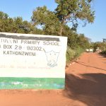 The Water Project: Kituluni Primary School -  School Sign And Entrance