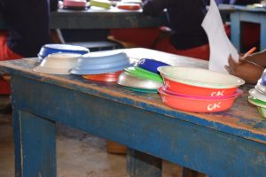 The Water Project:  Cleaned Bowls Out To Dry