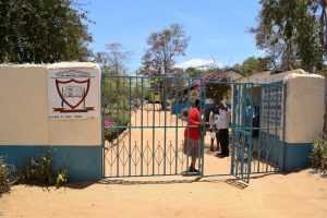 The Water Project:  Entrance And Gate