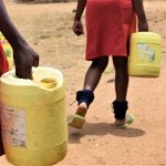 The Water Project: AIC Kyome Girls' Secondary School -  Fetched Water