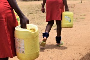 The Water Project:  Fetched Water