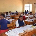 The Water Project: AIC Kyome Girls' Secondary School -  Girls In Class