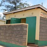 The Water Project: AIC Kyome Girls' Secondary School -  Girls Latrines