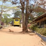The Water Project: AIC Kyome Girls' Secondary School -  School Bus And Dog