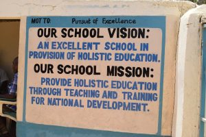 The Water Project:  School Vision And Mission
