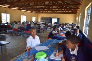 The Water Project:  Studying During Lunch