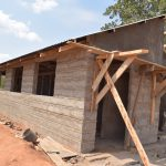 The Water Project: Kalulini Boys' Secondary School -  Latrines Under Construction