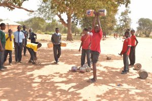The Water Project:  Lifting Weights