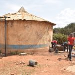 The Water Project: Kalulini Boys' Secondary School -  Old Rainwater Harvesting Tank