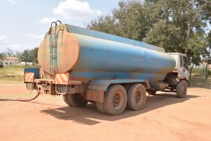 The Water Project:  Water Delivery Truck