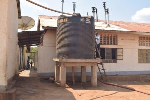 The Water Project:  Water Tank For Kitchen