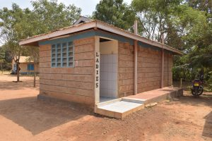 The Water Project:  Womens Staff Bathroom