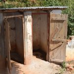 The Water Project: Kikuswi Secondary School -  Boys Latrines