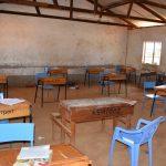 The Water Project: Kikuswi Secondary School -  Desks In Classroom