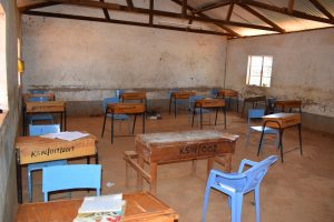 The Water Project:  Desks In Classroom
