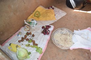 The Water Project:  Food To Be Cooked For Lunch