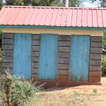 The Water Project: Kikuswi Secondary School -  Girls Latrine