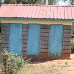 The Water Project: Kikuswi Secondary School -  Girls Latrine