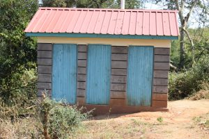 The Water Project:  Girls Latrine